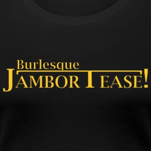 Dr. Shocker's Burlesque JamborTease! - Women's Premium T-Shirt