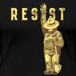 Smokey say RESIST - Women's Premium T-Shirt