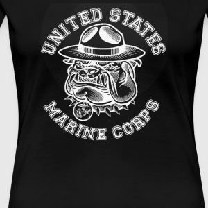 US Marines Sgt - Women's Premium T-Shirt