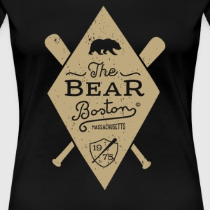 Bear Boston Massachusetts - Women's Premium T-Shirt