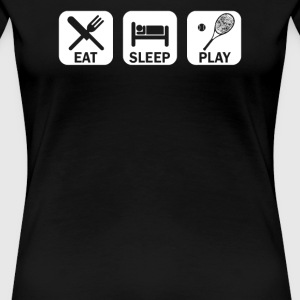 Eat Sleep Tennis - Women's Premium T-Shirt