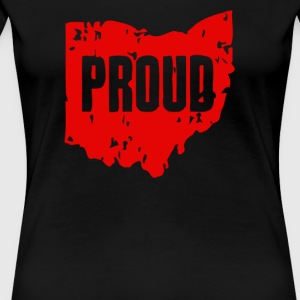 Ohio Proud State Pride Home - Women's Premium T-Shirt
