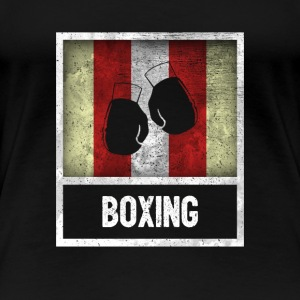 Distressed Design for BOXING - Women's Premium T-Shirt