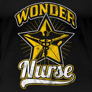 I am a wonder nurse - gift - Women's Premium T-Shirt