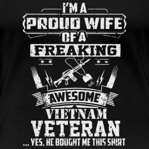 Vietnam Veteran Wife - Women's Premium T-Shirt
