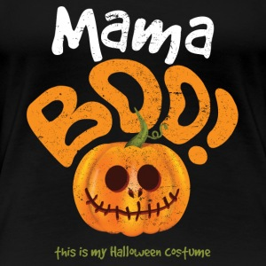 Women's Mama Boo Funny Halloween Gift for Women - Women's Premium T-Shirt