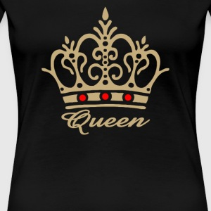 QUEEN Crown - Women's Premium T-Shirt