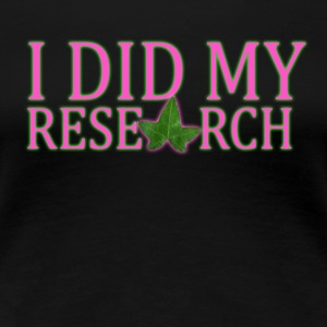 AKA Research - Women's Premium T-Shirt