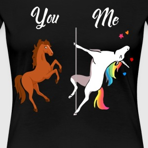 You and me Unicorn lover - Women's Premium T-Shirt
