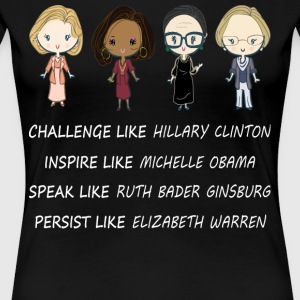 Inspire like Michelle Obama shirt - Women's Premium T-Shirt