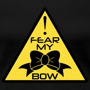 CheerleaderCollection Fear My Bow - Women's Premium T-Shirt