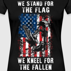 We Stand For The Flag TShirt - Women's Premium T-Shirt