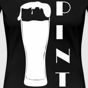 Pint Happy Fathers Day - Women's Premium T-Shirt