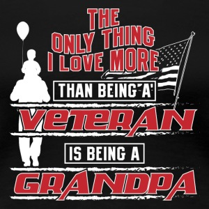 Being Grandpa - Women's Premium T-Shirt
