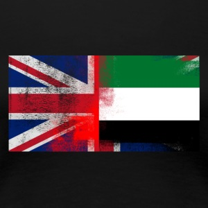 British Emirati Half United Arab Emirates Half UK - Women's Premium T-Shirt