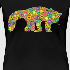 Red Panda Flower Shirt - Women's Premium T-Shirt