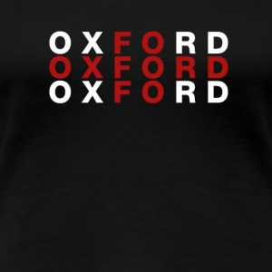 Oxford United Kingdom Flag Shirt - Oxford T-Shirt - Women's Premium T-Shirt