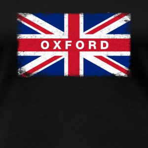 Oxford Shirt Vintage United Kingdom Flag T-Shirt - Women's Premium T-Shirt