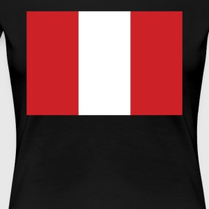 Flag of Peru Cool Peruvian Flag - Women's Premium T-Shirt