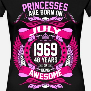 Princesses Are Born On July 1969 48 Years