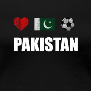 Pakistan Football Shirt - Pakistan Soccer Jersey - Women's Premium T-Shirt