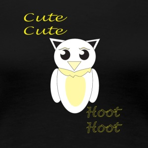 CuteOwl - Women's Premium T-Shirt