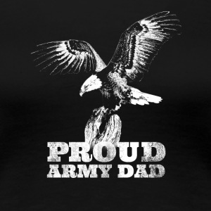 Mens Distress Proud United States Army Dad - Women's Premium T-Shirt