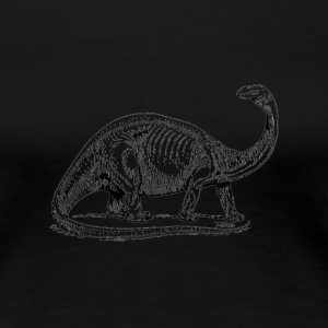 The Dinosaur - Women's Premium T-Shirt
