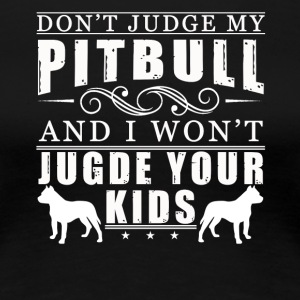 PITBULL MOM TEE SHIRT - Women's Premium T-Shirt