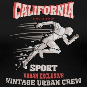 California sport urban vintage exclusive vector - Women's Premium T-Shirt