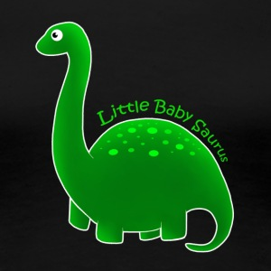 Green Little Baby Saurus - Women's Premium T-Shirt