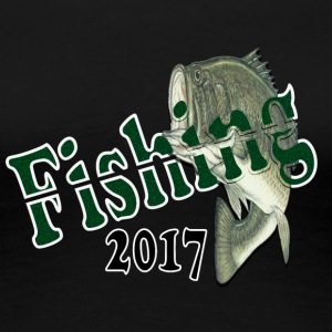 Fishing 2017 green - Women's Premium T-Shirt