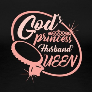 God's Princess Husband's Queen - Women's Premium T-Shirt