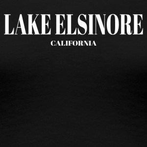 CALIFORNIA LAKE ELSINORE US DESIGNER EDITION - Women's Premium T-Shirt