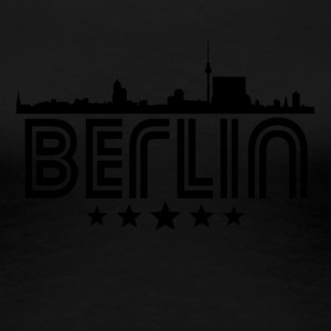 Retro Berlin Skyline - Women's Premium T-Shirt