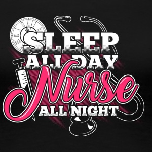 Funny Registered Nurse - Gift - Present - Humorous - Women's Premium T-Shirt
