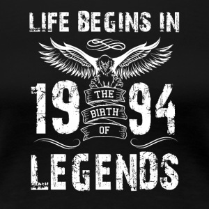 Life Begin In 1994 Legends - Women's Premium T-Shirt