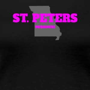 MISSOURI ST PETERS US STATE EDITION PINK - Women's Premium T-Shirt
