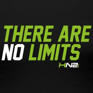THERE ARE NO LIMITS - Women's Premium T-Shirt