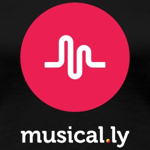 musical.ly - Women's Premium T-Shirt