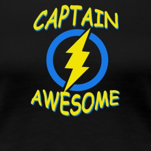 CAPTAIN AWESOME - Women's Premium T-Shirt