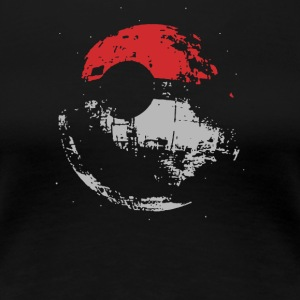 Death Star Pokeball - Women's Premium T-Shirt