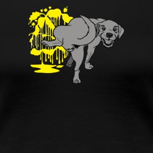 Dog poop - Women's Premium T-Shirt