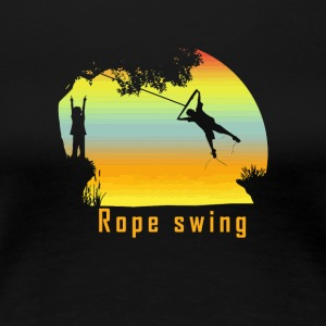 Rope swing - Women's Premium T-Shirt