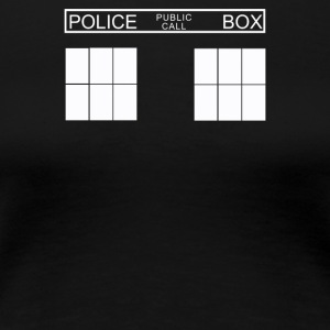 Police Public Call Box - Women's Premium T-Shirt