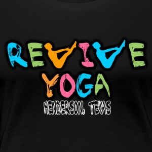 revive logo modified white2 v5a - Women's Premium T-Shirt