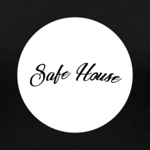 safe house circle - Women's Premium T-Shirt