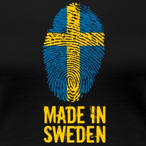 Made In Sweden / Sverige - Women's Premium T-Shirt