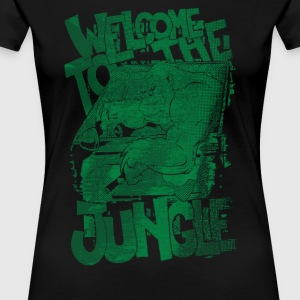 Welcome to the Jungle - Women's Premium T-Shirt