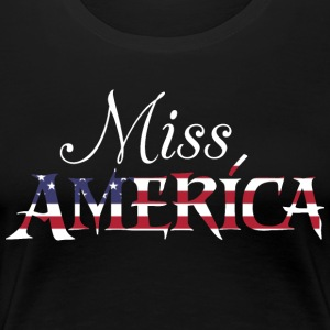 Miss America USA - Women's Premium T-Shirt
